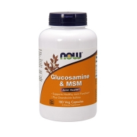 Now Foods Glucosamine & MSM (180)
