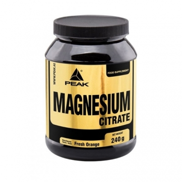 Peak Magnesium Citrate (240g)