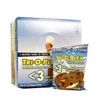 Chef Jays / Tri-o-plex Protein Cookie <3gr Sugar (12x86g) (25% OFF - short exp. date)