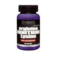 Ultimate Nutrition Arginine/Ornithine/Lysine (100Caps)