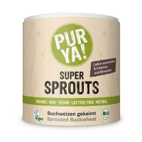 PurYa! Super Sprouts - Buckwheat (220g) (25% OFF - short exp. date)