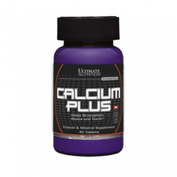 Ultimate Nutrition Calcium Plus (45Tabs)
