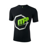 Musclepharm Sportswear Crew Neck Octagon Tee Black (MPTS409)