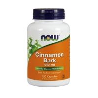 Now Foods Cinnamon Bark 600mg (120) (50% OFF - short exp. date)