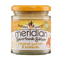 Meridian Foods Peanut & Baobab Butter (6x170g)