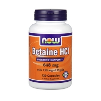 Now Foods Betaine HCI (120)